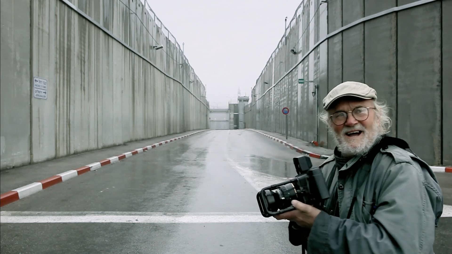 Josef Koudelka photographie la terre sainte avec un Fuji GX617