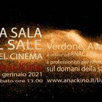 LA SALA: IL SALE DEL CINEMA Verdone e Avati al webinar Anac su futuro del cinema